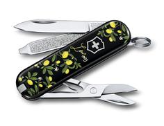 Нож-брелок Classic When Life Gives You Lemons VICTORINOX