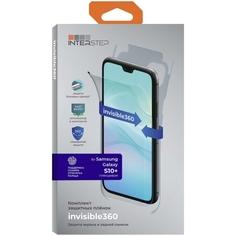 Комплект защитных пленок InterStep invisible360 для Samsung S10+, UNI