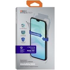 Комплект защитных пленок InterStep invisible360 для Samsung Note 10+, UNI
