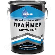 Битумный праймер krafor 16 кг 1/33 43899