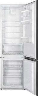 Встраиваемый двухкамерный холодильник Smeg