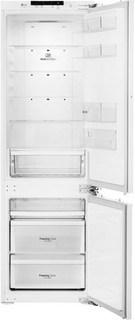 Встраиваемый двухкамерный холодильник LG