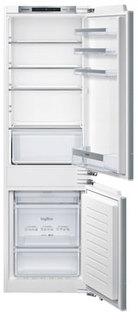 Встраиваемый двухкамерный холодильник Siemens