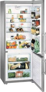 Двухкамерные холодильники Liebherr