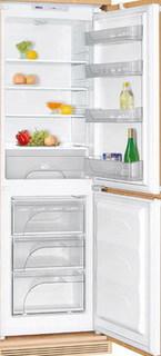 Встраиваемый двухкамерный холодильник ATLANT Атлант