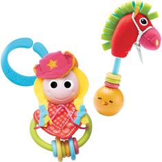 Игровой набор Yookidoo Ковбойша и ее лошадка