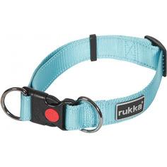 Ошейник для собак RUKKA Bliss Collar 25 мм 30-50 см Голубой