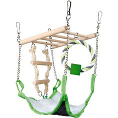 Игрушка для грызунов Trixie Подвесной мост с гамаком 17х15х22 см в ассортименте
