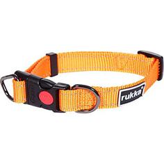 Ошейник для собак RUKKA Bliss Collar 15 мм 20-30 см Оранжевый