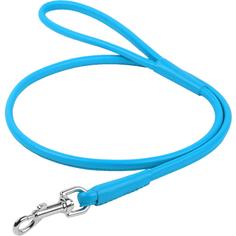 Поводок для собак COLLAR Glamour круглый 8 мм 122 см Синий