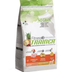 Корм для собак TRAINER Fitness3 No Grain Medium/Maxi Rabbit and Potatoes 3 кг