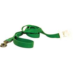 Поводок для собак Great&Small 10 мм 1,2 м Зеленый