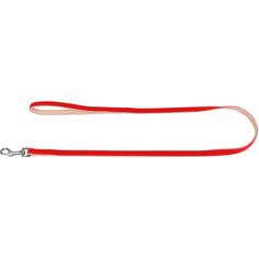 Поводок для собак COLLAR Brilliance без украшений 13 мм Красный