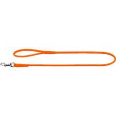 Поводок для собак COLLAR Glamour круглый 4 мм Оранжевый