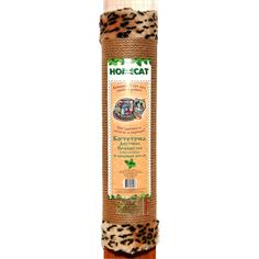 Когтеточка для кошек HOMECAT C кошачьей мятой полукруглая джутовая с мехом 58x11 см