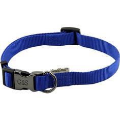 Ошейник для собак Great&Small 45-65 см Синий