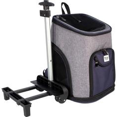 Сумка-рюкзак для животных TRIOL Трансформер на колесах 33x30x50 см