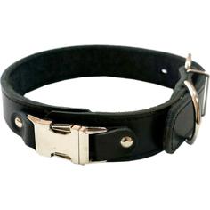 Ошейник для собак ZOOEXPRESS Fast Line 35 мм 60 см Черный