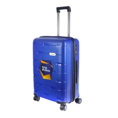 Чемодан Proffi travel tour fashion 24 pp пластиковый средний 64,5х47х27 синий