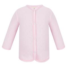 Кофта Lucky Child Ажур розовая 68-74