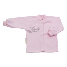 Кофточка Lucky Child Ангелочки розовая 56-62