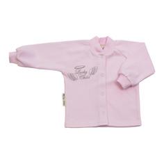 Кофточка Lucky Child Ангелочки розовая 74-80