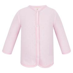 Кофточка Lucky Child Ажур розовая 80-86