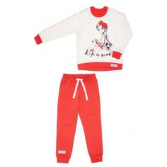 Спортивный костюм Lucky Child Sport: толстовка и брюки 80-86