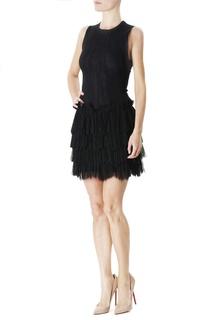 Платье-мини с оборками Jay Ahr