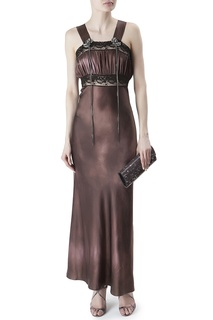 Шелковое платье Erickson Beamon