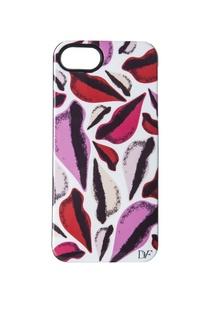 Чехол для iPhone 5 New Lips Diane Von Furstenberg