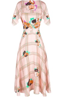 Платье из вискозы Roksanda