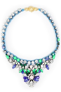Колье с кристаллами Mini Theresa Shourouk