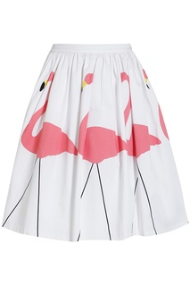 Хлопковая юбка Alice + Olivia