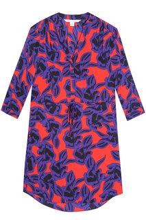 Шелковое платье Freya Diane Von Furstenberg