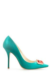 Кожаные туфли с кристаллами Lola Sophia Webster