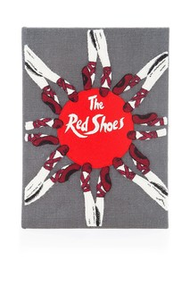 Хлопковый клатч The Red Shoes Olympia Le Tan