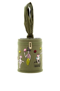 Хлопковая сумка Zephire Fantastic Olympia Le Tan