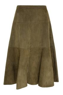 Замшевая юбка Michael Kors Collection