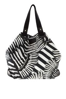 Хлопковая сумка Just Cavalli