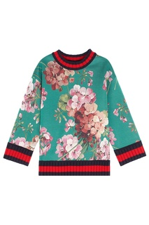 Свитшот Blooms print jersey sweatshirt Gucci