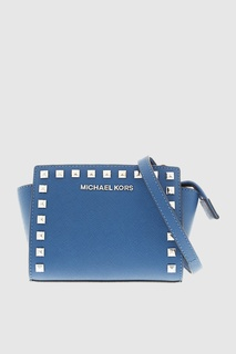 Кожаная сумка Selma Michael Kors