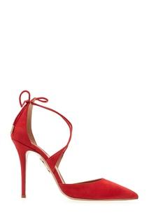 Замшевые туфли Matilde Aquazzura