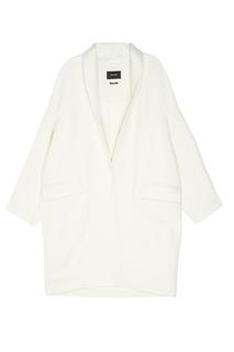 Пальто из шерсти и льна Isabel Marant