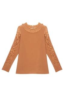 Шелковая блузка See by Chloé
