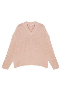 Хлопковый пуловер See by Chloé