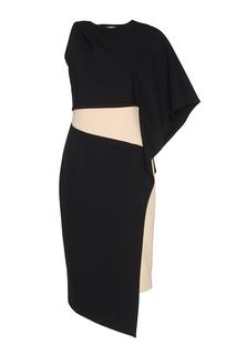 Комбинированное платье Chapurin