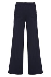 Трикотажные брюки с лампасами Victoria Victoria Beckham