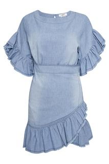 Джинсовое платье с оборками Isabel Marant Etoile