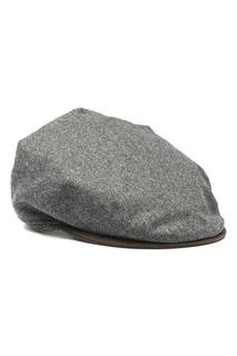 Серая кепка из шерсти Lardini